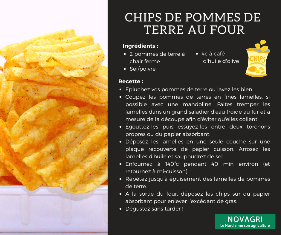 Recette chips